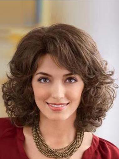 Brown Classic Wavy Suitable Classic Wigs