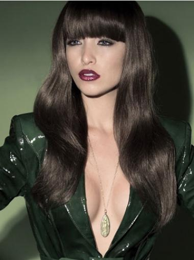 Black With Bangs Wavy Gorgeous Synthetic Wigs