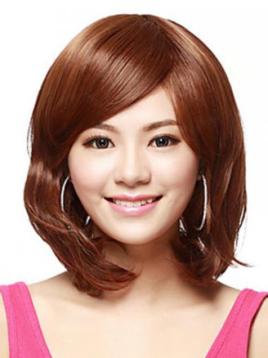 Bobs Auburn Straight Amazing Synthetic Wigs