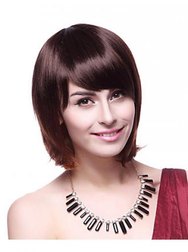 Bobs Auburn Straight Beautiful Synthetic Wigs