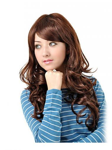 Auburn Layered Wavy Incredible Synthetic Wigs