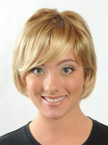 Straight Blonde Bobs Fabulous Synthetic Wigs