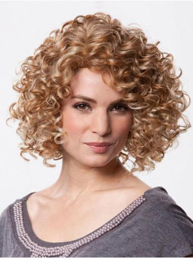 Brown Curly Comfortable Petite Wigs