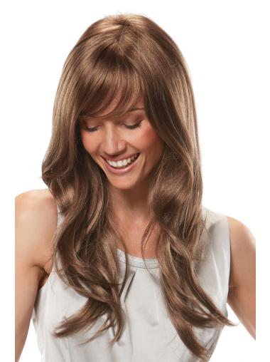 Auburn With Bangs Wavy Gorgeous African American Wigs