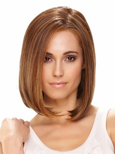 Brown Bobs Synthetic Great Medium Wigs