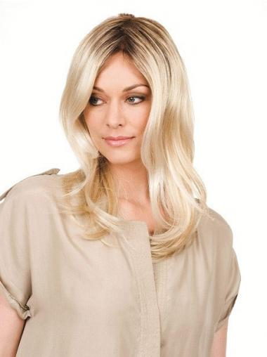 Blonde Synthetic Wavy Sassy Celebrity Wigs
