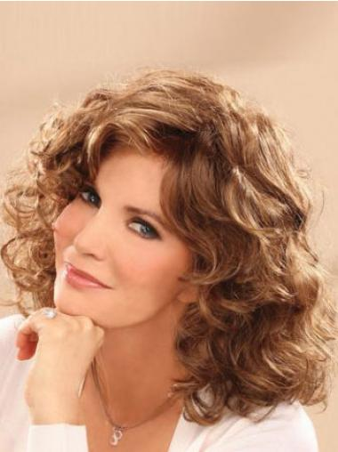 Brown Lace Front Wavy New Classic Wigs