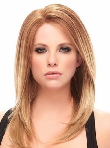 Lace Front Straight Auburn Best Medium Wigs