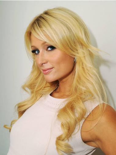 Blonde Layered Wavy Sassy Long Wigs