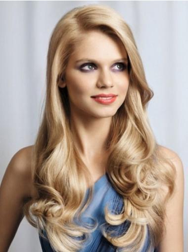 Blonde Wavy Popular Long Wigs