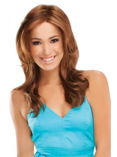 Auburn Layered Wavy Popular Long Wigs