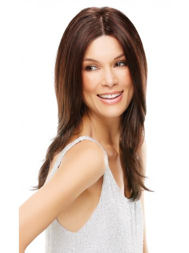 Lace Front Auburn Straight Natural Long Wigs