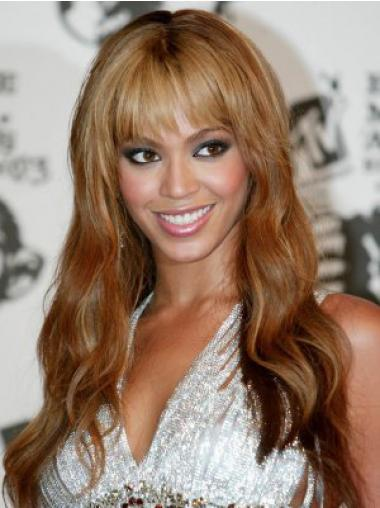 Auburn Brazilian Remy Hair Wavy Sassy Beyonce wigs