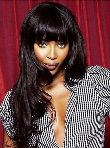 Wavy Black Indian Remy Hair Fabulous Celebrity Wigs
