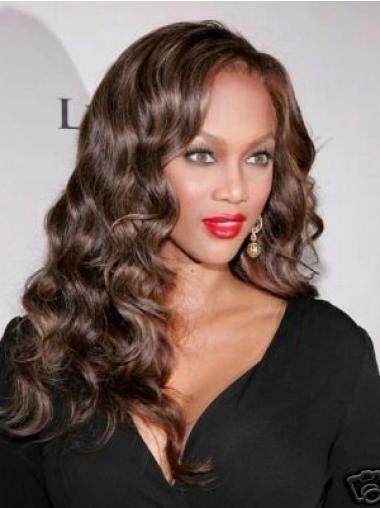 Brown Curly High Quality Celebrity Lace Wigs