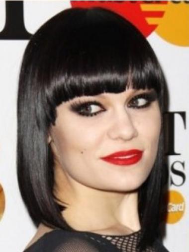 Black Bobs Straight Ideal Jessie J wigs