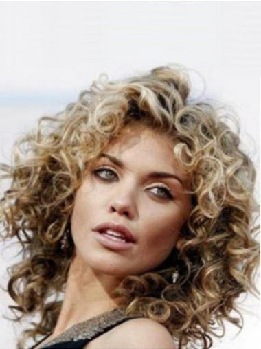 Brown Classic Curly Online Wigs