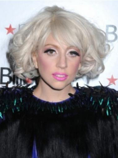 Layered Curly Top Lady Gaga wigs
