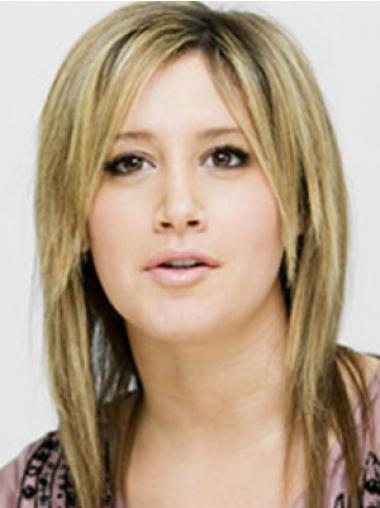 Straight Blonde Layered Amazing Celebrity Wigs