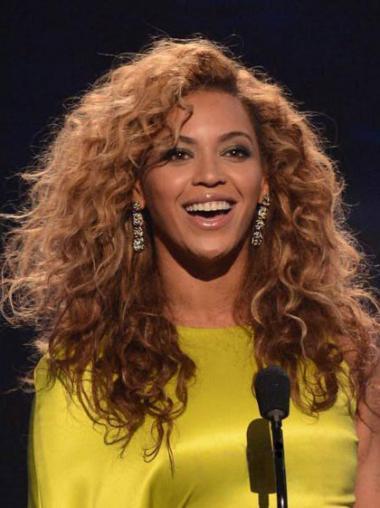Auburn Layered Curly Style Beyonce wigs