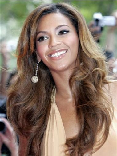 Brown With Bangs Wavy Great Beyonce wigs