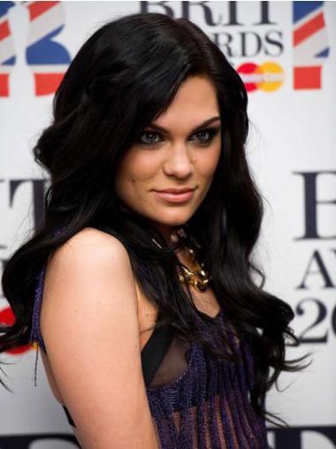 Black Lace Front Wavy Great Jessie J wigs