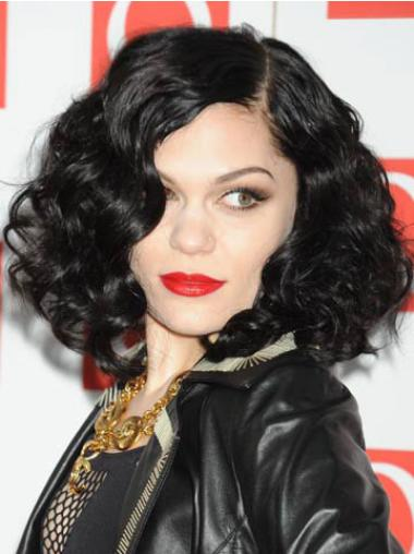Curly Black Without Bangs Best Jessie J wigs