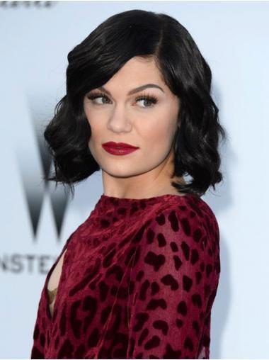 Black Classic Wavy Hairstyles Jessie J wigs