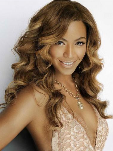 Brown Brazilian Remy Hair Wavy New Beyonce wigs