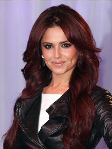 Red Lace Front Wavy High Quality Cheryl Cole wigs