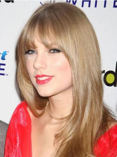 Straight Blonde With Bangs Fabulous Celebrity Wigs