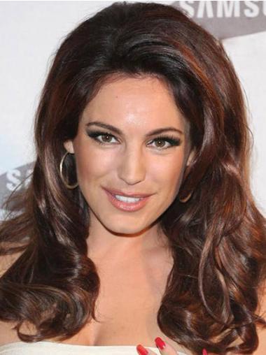 Wavy Auburn Lace Front Beautiful Celebrity Wigs