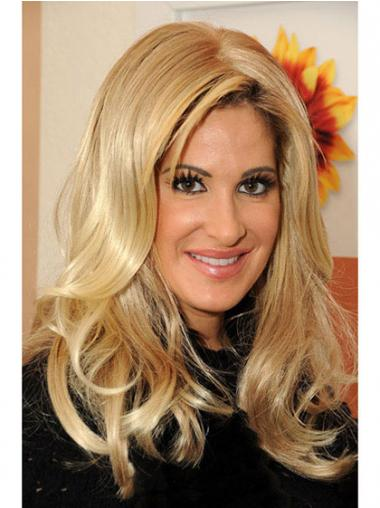 Blonde Wavy Layered Gorgeous Kim Zolciak wigs