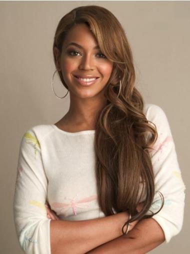 Brown Brazilian Remy Hair Wavy Best Beyonce wigs
