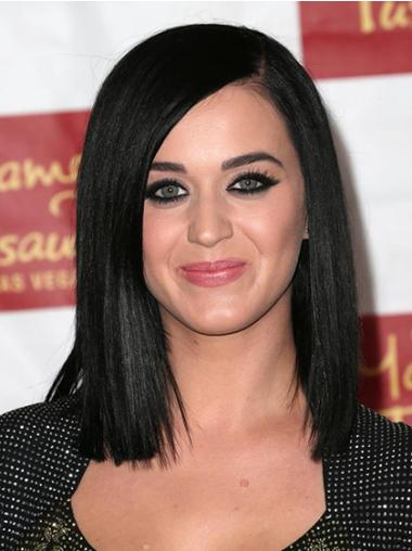 Black Without Bangs Straight Top Katy Perry wigs