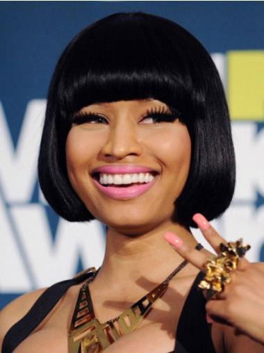 Bobs Black Straight Designed Nicki Minaj wigs