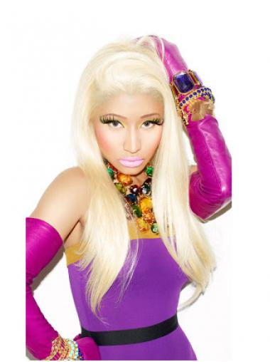 Straight Blonde Cheap Nicki Minaj wigs