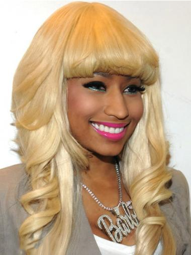 Blonde Lace Front Wavy No-fuss Nicki Minaj wigs