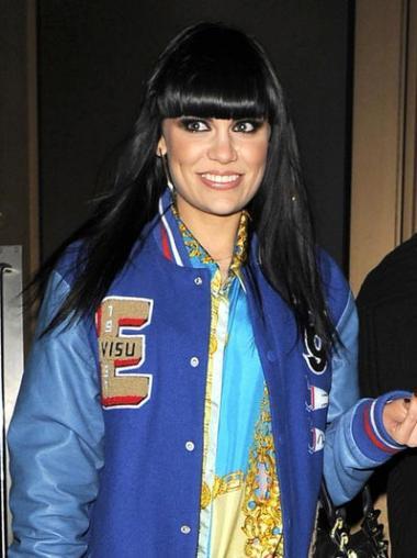 Straight Black Lace Front Best Jessie J wigs