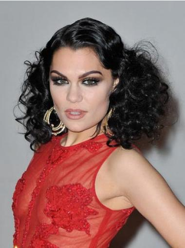 Black Classic Curly No-fuss Jessie J wigs