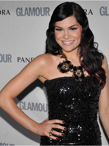 Black Lace Front Wavy Hairstyles Jessie J wigs