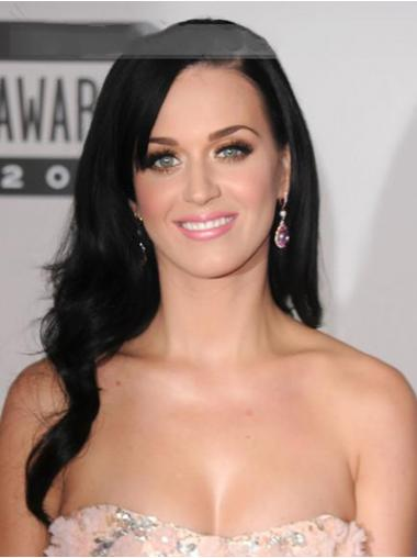 Black Layered Wavy Great Katy Perry wigs