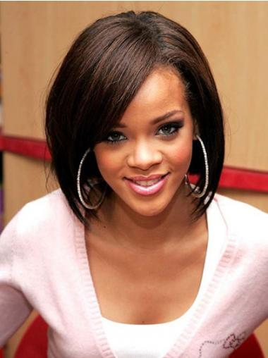 Bobs Straight Brown Fashion Rihanna wigs