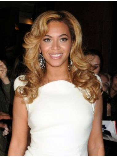 Blonde Layered Wavy Convenient Beyonce wigs