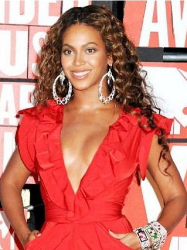 Brown Curly Popular Beyonce wigs