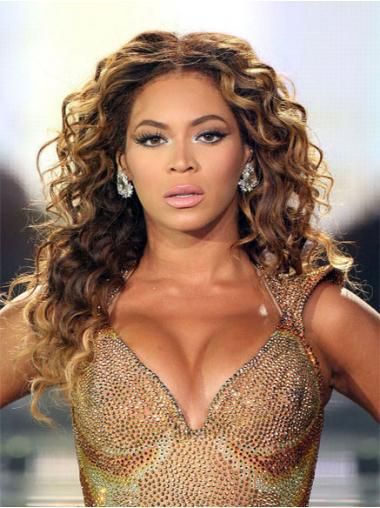 Brown Curly High Quality Beyonce wigs