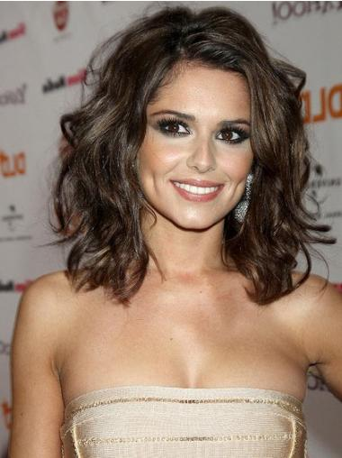 Brown Lace Front Wavy Incredible Cheryl Cole wigs