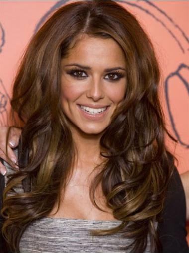 Brown Lace Front Wavy New Cheryl Cole wigs