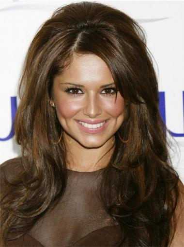Brown Lace Front Wavy Natural Cheryl Cole wigs