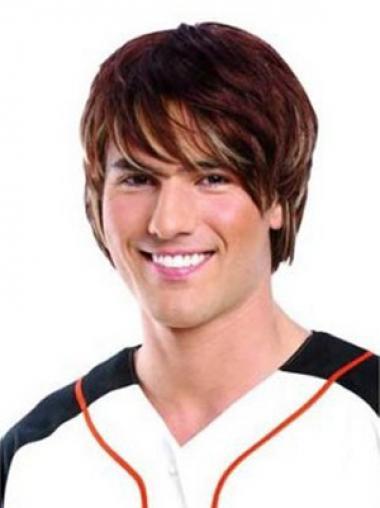 Auburn Straight Great Men Wigs